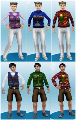 Sweaters and vest